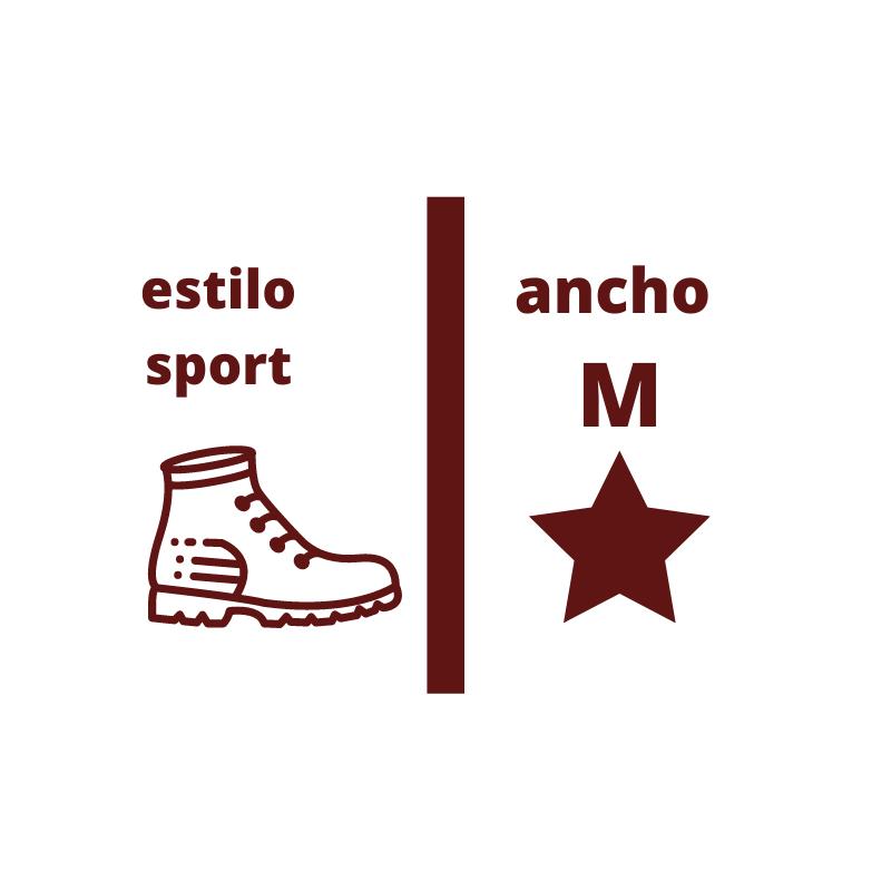 horma sport ancho M de la web