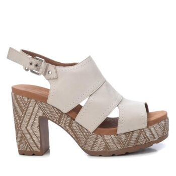 Sandalias Plataforma Mujer Carmela Shoes 067706 Hielo perfil