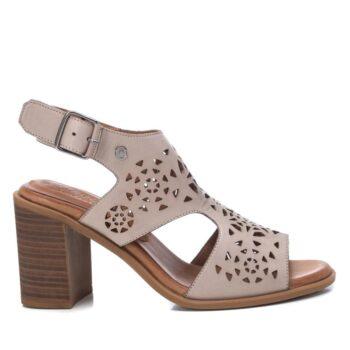 Sandalias Tacón Mujer Carmela Shoes 067763 Hielo perfil