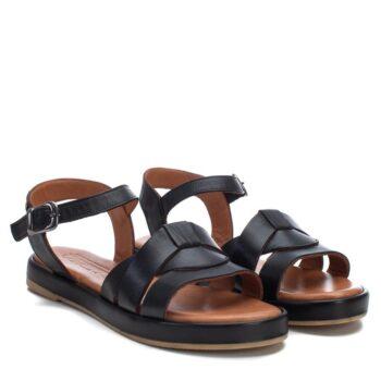 Sandalias Planas Mujer Carmela Shoes 067831 Negras perfil