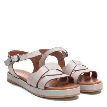 Sandalias Planas Mujer Carmela Shoes 067831 Hielo perfil