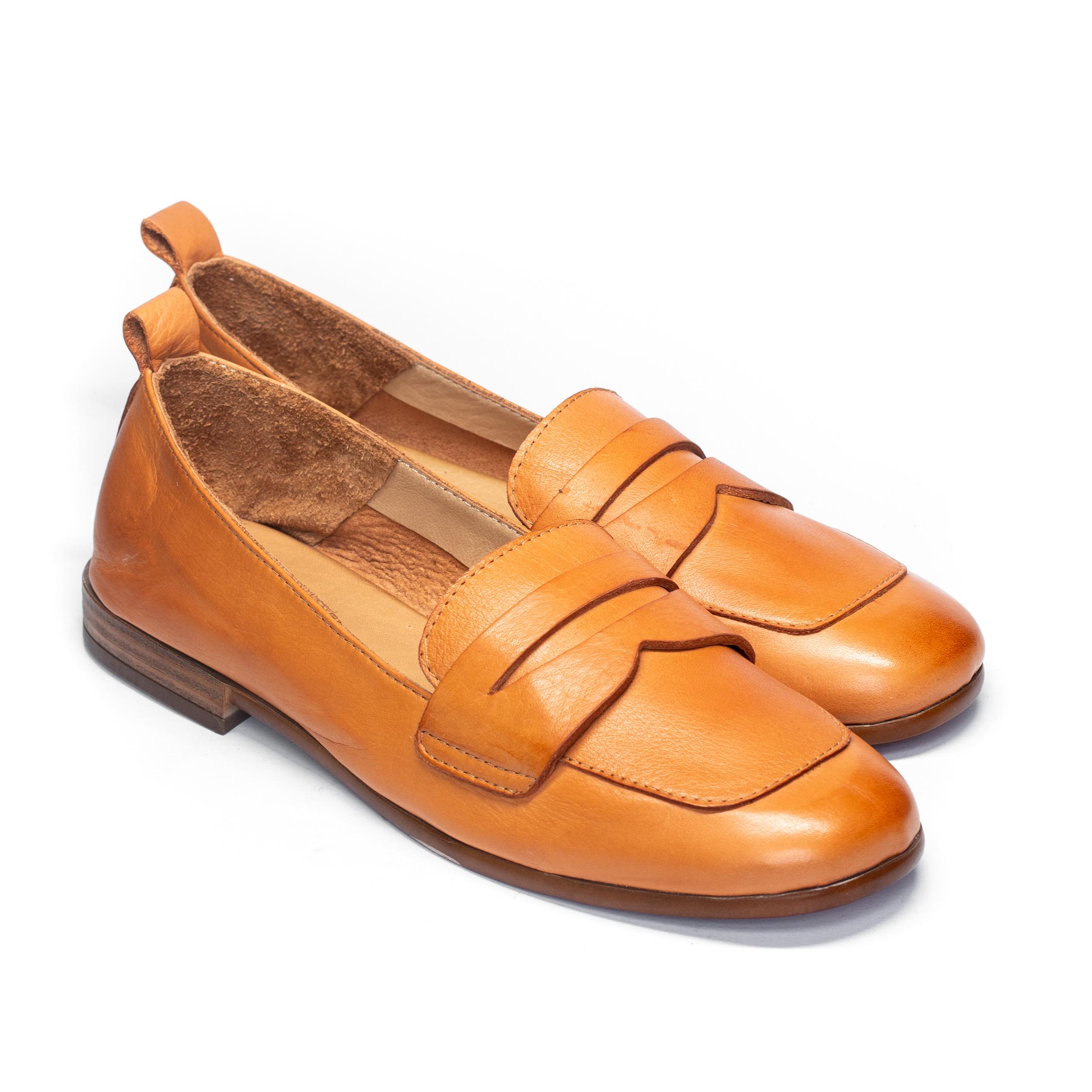 Zapatos Mocasín Camel BUENO WS4300 de Mujer perfil