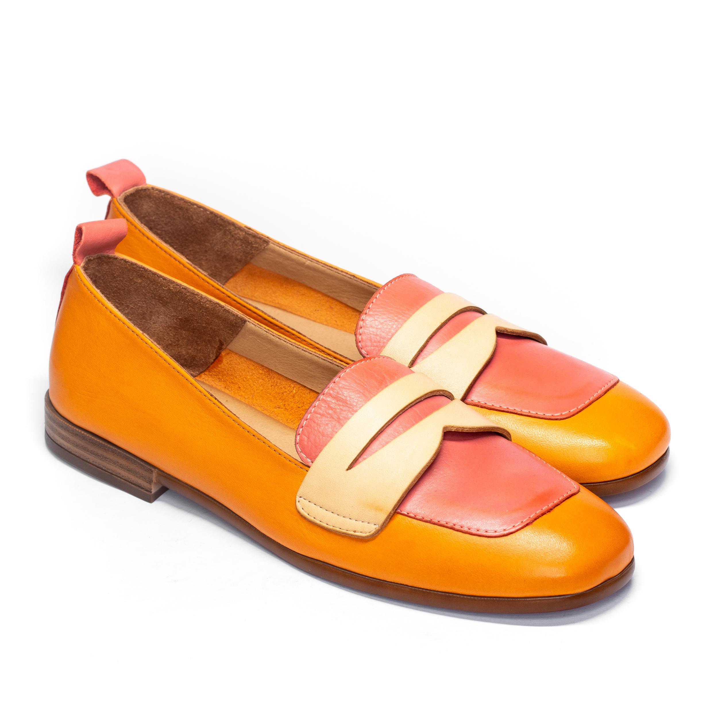 Zapatos Mocasín Combi BUENO WS4300 de Mujer perfil