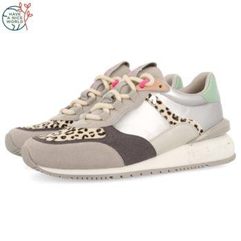 Sneakers de Mujer GiosEppo 64351 Andebu Blancas perfil