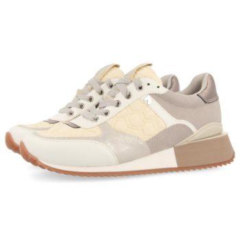 Sneakers de Mujer GiosEppo 64362 Engerdal Blancas perfil