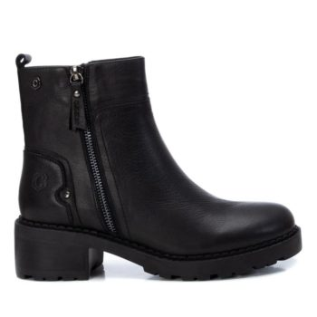 Botín de Mujer Piel Negra Carmela Shoes 06790501 perfil