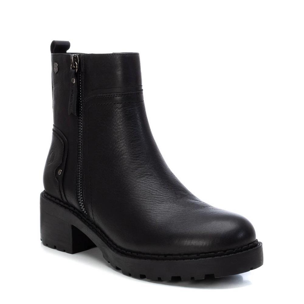 Botín de Mujer Piel Negra Carmela Shoes 06790501 pala