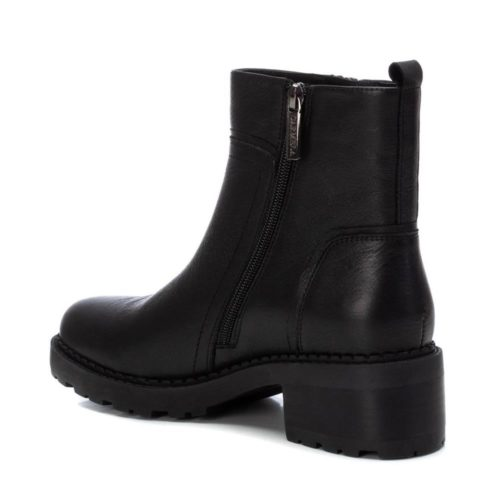 Botín de Mujer Piel Negra Carmela Shoes 06790501 talón