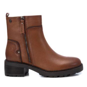 Botín de Mujer Piel Camel Carmela Shoes 06790502 perfil