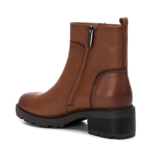 Botín de Mujer Piel Camel Carmela Shoes 06790502 talón