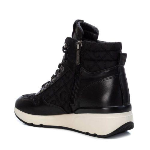 Botines Deportivos con Cuña Carmela Shoes 06811401 Negros interior