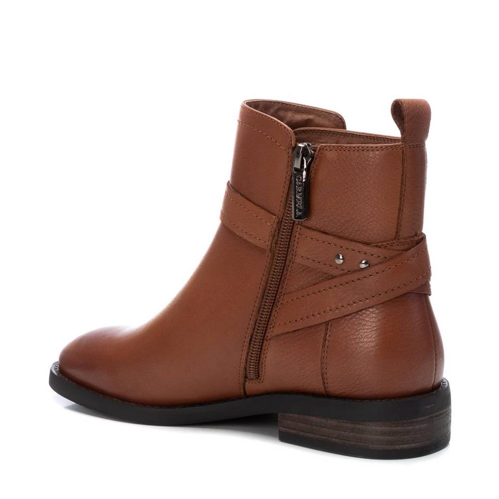 Botín Plano Cuero Carmela Shoes 06797301 interior