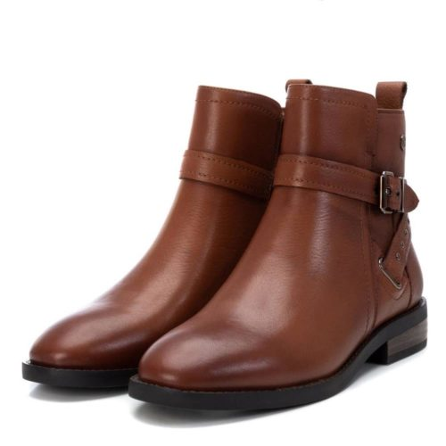 Botín Plano Cuero Carmela Shoes 06797301 par