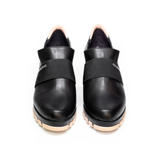 Zapatos Abotinados Doralatina by Ezzio Negros frontal