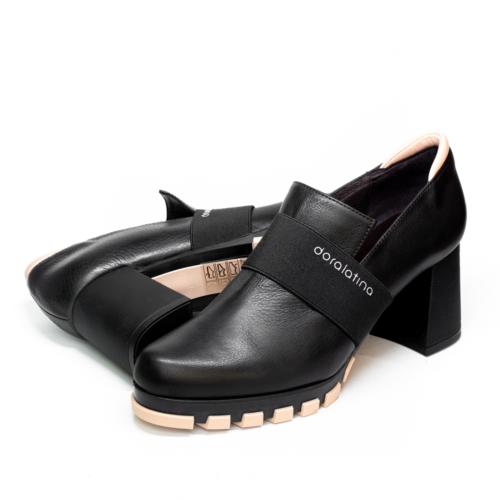 Zapatos Abotinados Doralatina by Ezzio Negros par