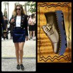 """""""tacco"""" Zapatos y Complementos. Zapato Negro, suela azul."""