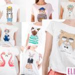 Elles camisetas motivos animales