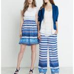 Elles Fracomina azules combinados
