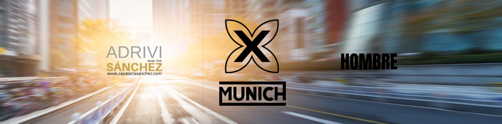 Munich y Zapaterías Sánchez hombre primavera verano 2021