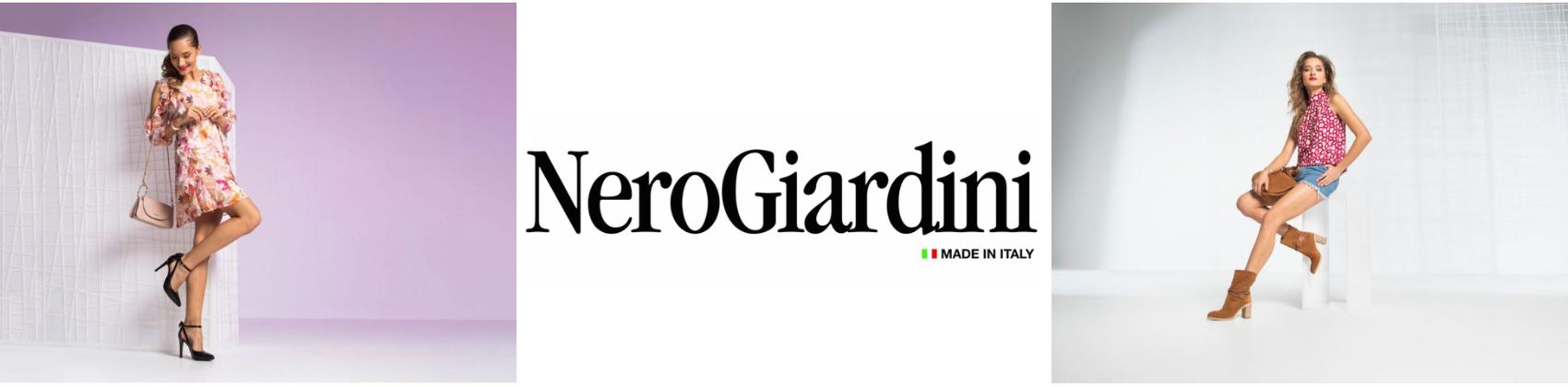 Nero Giardini banner primavera-verano 2021 dela shop